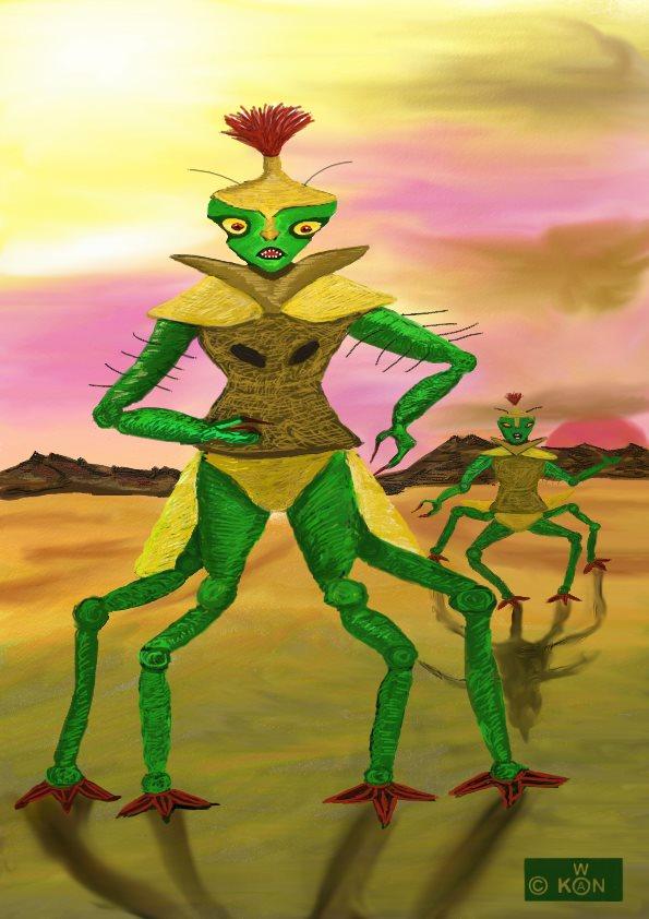 Les créatures du désert de Jawala