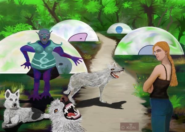 les dômes du monde des ames
